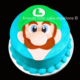 Brenda Billo Cake Creations: Luigi face