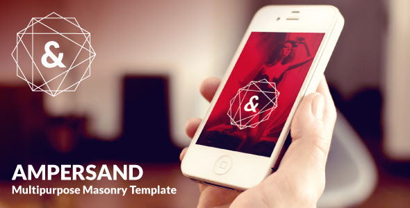 01 Preview Ampersand Multipurpose Masonry Website Template @AVAThemes
