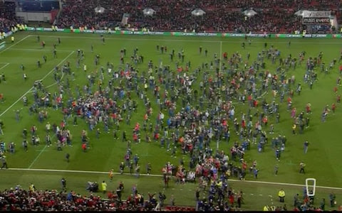 Scenes at Ashton Gate