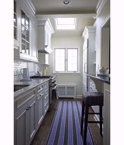 Gorgeous Galley | Sensational Space-Saving Kitchens | This Old House