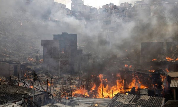 """Incêndio em Paraisópolis, a """"Etiópia"""", segundo Bia Doria"""