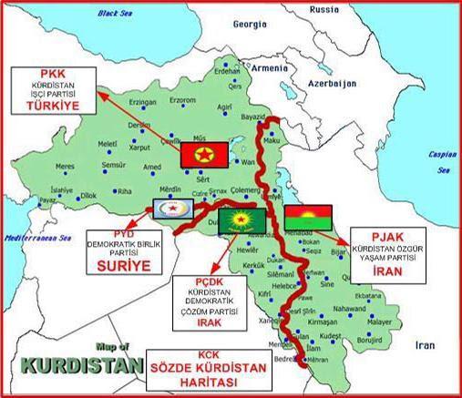 Η διαδικασία επίλυσης του Κουρδικού θα καταλήξει στην δημιουργία κράτους από το ΡΚΚ