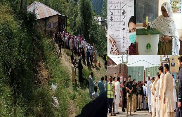 Unofficial results start pouring in as voting ends in AJK Elections | Daily Pakistan