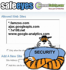 Configuring Safe Eyes for FamZoo