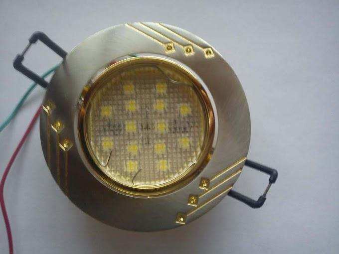 Установка точечных светильников в гипсокартон своими руками