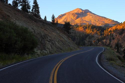 IMG_5025 Lassen Peak at Sunset, Lassen Volcanic NP