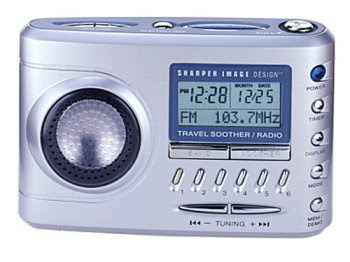 Sharper Image Travel Soother 20 Radioalarm Clock Reviews Home