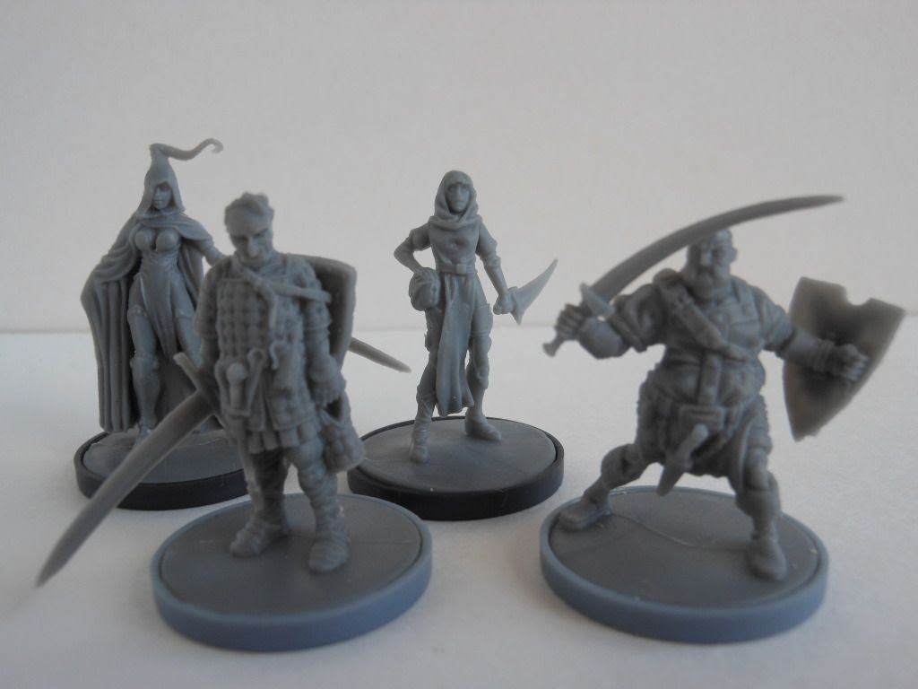Cadwallon: City of Thieves miniatures