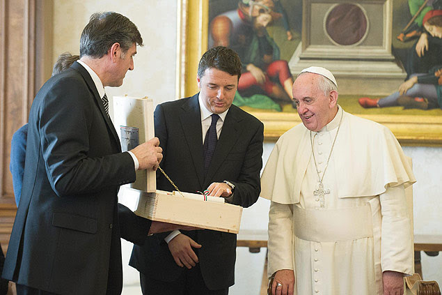 Papa Francisco é visto durante audiência em dezembro no Vaticano