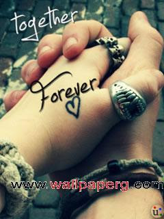 Download Together Forever Heart Touching Love Quote Mobile Version