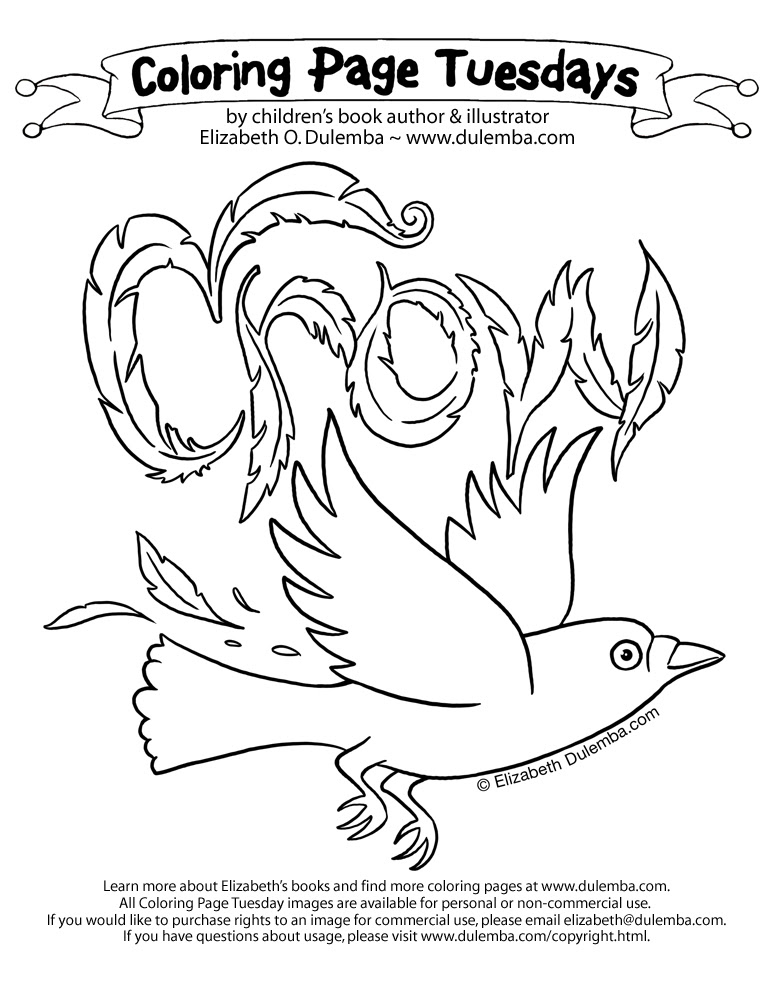940 Bird Identification Coloring Pages For Free
