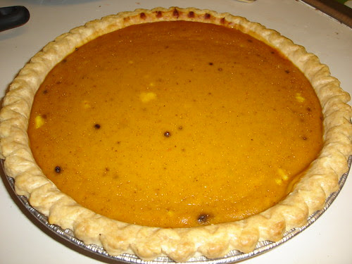 My First Ever Pumpkin Pie