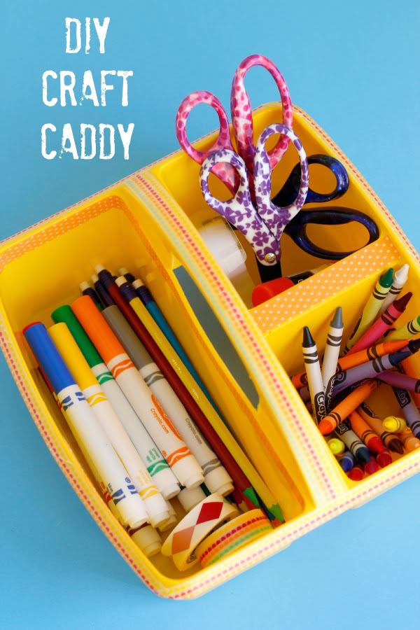Back to School DIY Craft Caddy  Make and Takes