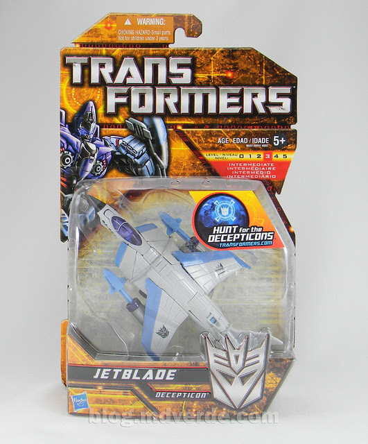 Transformers Jetblade HftD Deluxe - caja