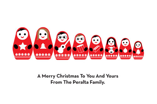Holiday Greetings From The Peralta Family
