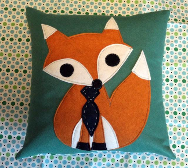 Mr Fox Pillow