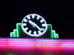 Neon Clock, Walthamstow Stadium