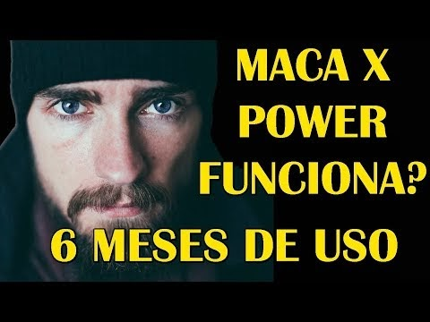 Suplemento 100% Natural Maca x power