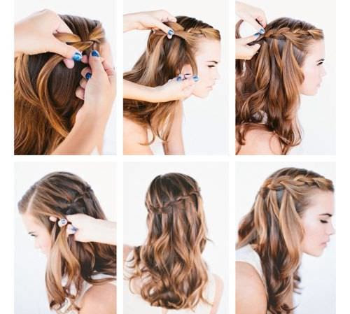 33 Half Up Half Down Wedding Hairstyles To Try Koees Blog: 22+ Top Style Braid Hairstyle For Long Hair Step By Step