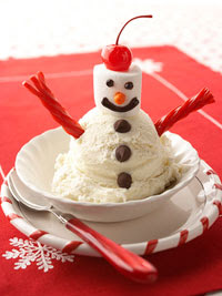 Snowman Sundae