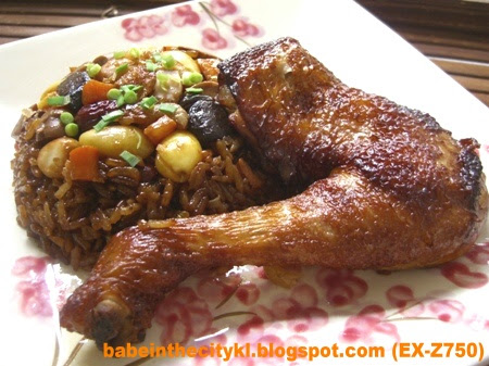 chicken with 8 treasure rice
