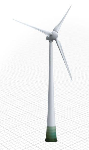世界最大の風力発電機 Enercon E 126 をラジコンヘリで空撮 Yo