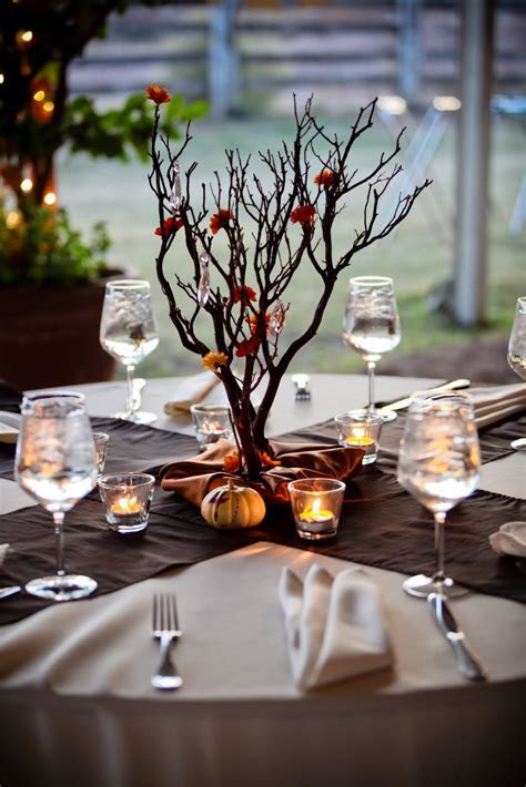 Ola's blog: Fall Wedding Table Decorations