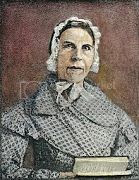 photograph of Sarah Grimke, outspoken activist for the abolionist and women's rights movements in antebellum America