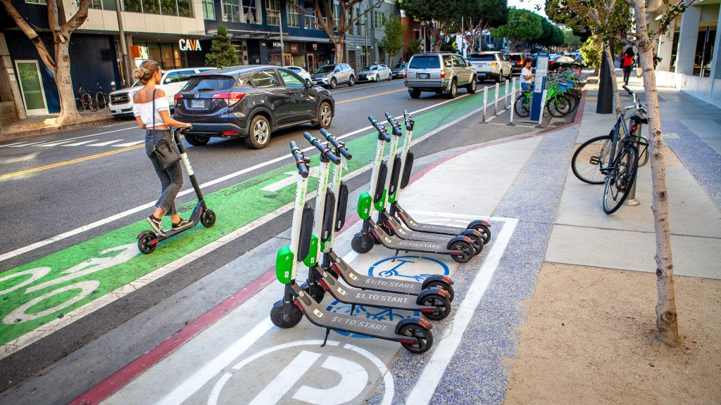 Regulating The Scooters Santa Monica Next