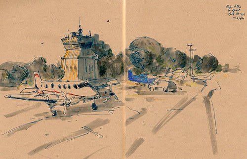 October 2011: Palo Alto Airport by apple-pine