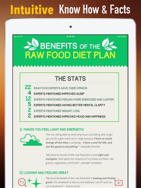 app shopper raw food  days diet healthy recipes