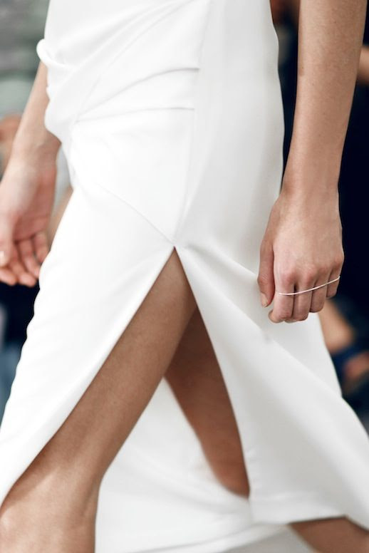 Le Fashion Blog Three Minimal White Looks Spring Summer Style Inspiration Sarah & Sebastian Jewellery Silver Palm Cuff Dion Line II White Thigh Slit Skirt Via Shine By Three photo Le-Fashion-Blog-Three-Minimal-White-Looks-Spring-Summer-Style-Palm-Cuff-White-Slit-Skirt-Via-Shine-By-Three.jpg