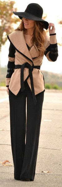 You can keep your hat on #fashion -- Love the alternative to a blazer/jacket! But sort-of wonder how it would look on a curvier figure?  & wish this came in maybe a gray & black...  http://www.vjstyle.com/shop-womens-clothes-2/jackets-and-coats/designer-belted-cape