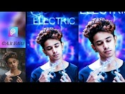Picsart Editing | Electronic Boy | Futuristic Virtual Picsart Editing | A.k Editz