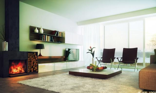 Idées décoration de salon moderne - design et minimaliste