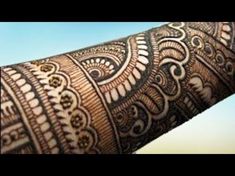 back hand bharwa mehndi design