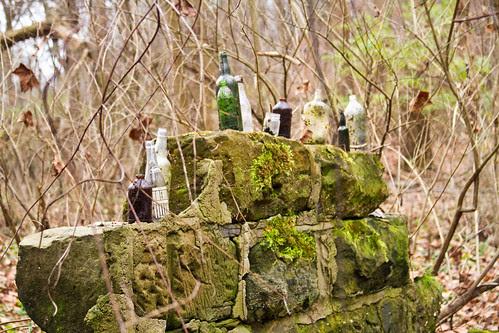 Sandstone and Bottles