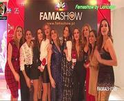 As belas apresentadoras do Famashow em vários momentos