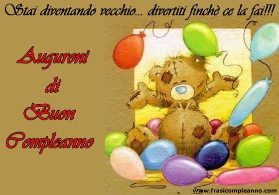 Souvent Augurio Compleanno Speciale Di Un WT99