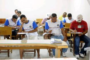 Nestas terça e quarta-feira, 247 reeducandos de Pernambuco farão as provas de Exame Nacional  do Ensino Médio. Foto: Helder Tavares/DP/D.A Press /Arquivo