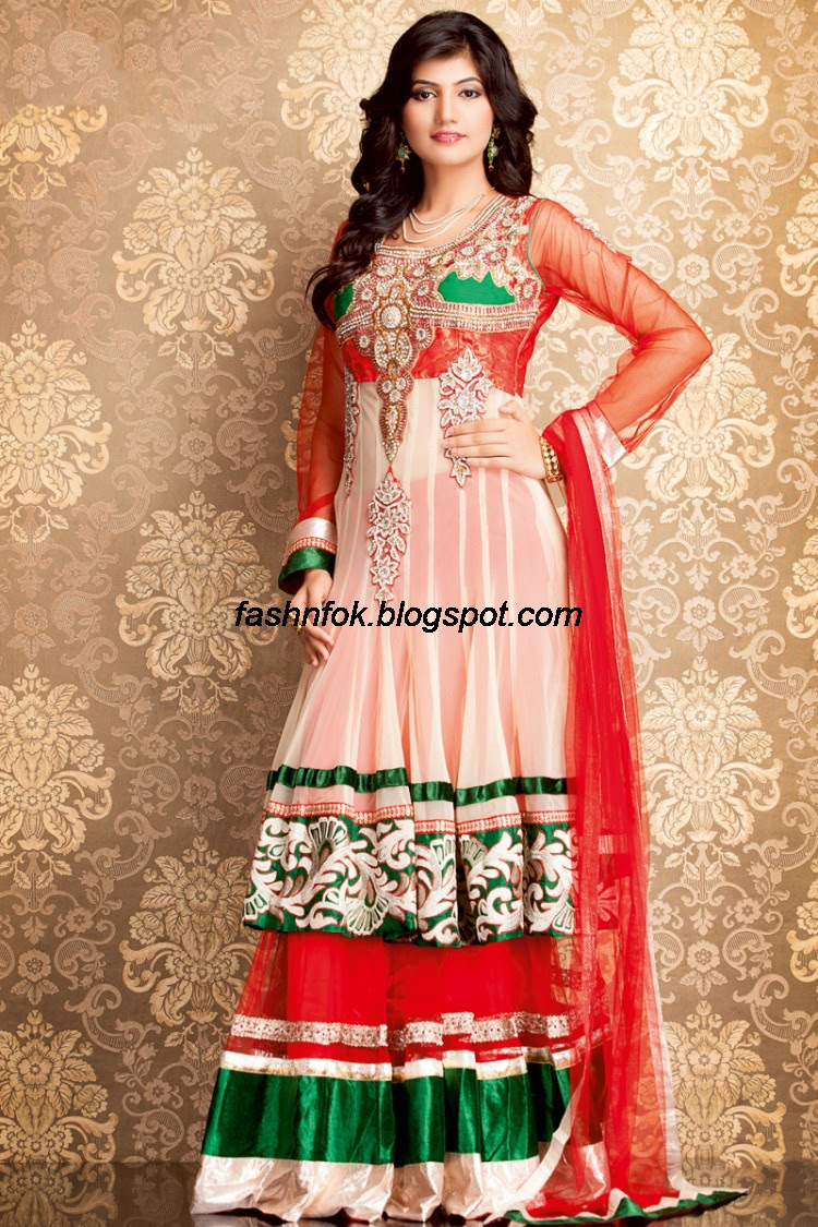 Bridal-Wedding-Wear-Sari-Lehenga-Choli-Latest-Brides-Outfit-for-Girls-Women-2013-4