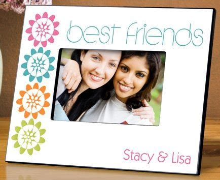 Best Friend Frames   Personalized Best Friend Photo Frames
