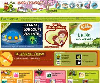 Hugo Lescargot Des Coloriages Pour Tous Récréatif Fr