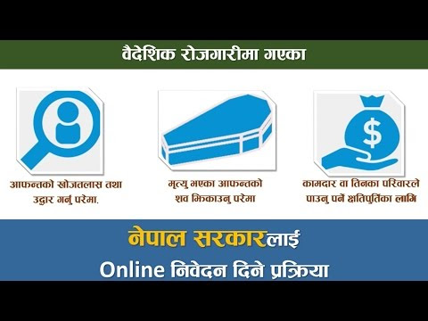 Online System to File Application in Department of Consular Services, Nepal