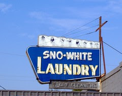 sno-white laundry