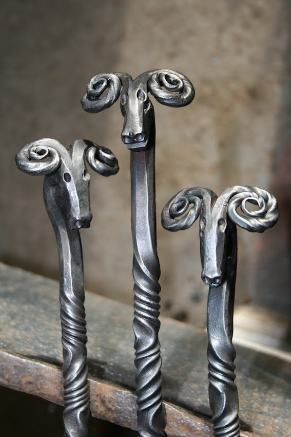 Blacksmith Made Fire Tools And Fireside Accessories From West