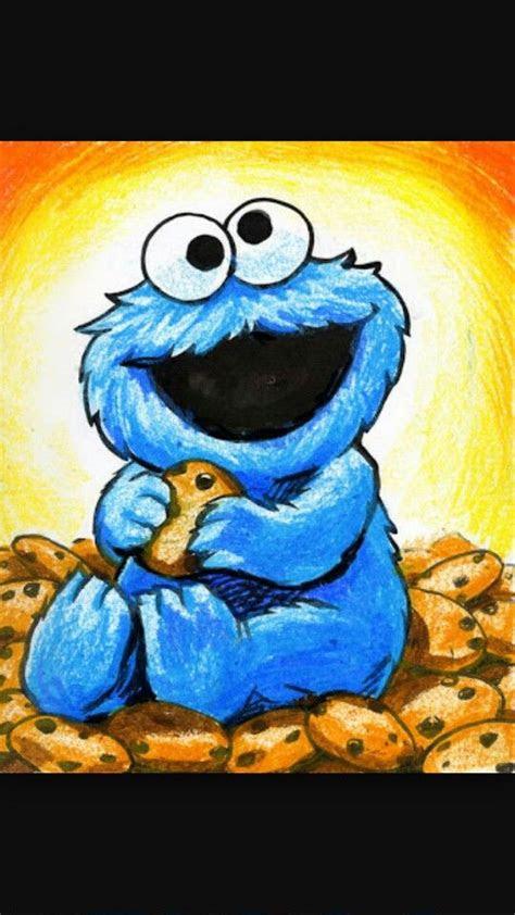 cookie monster monsters  monster drawing  pinterest