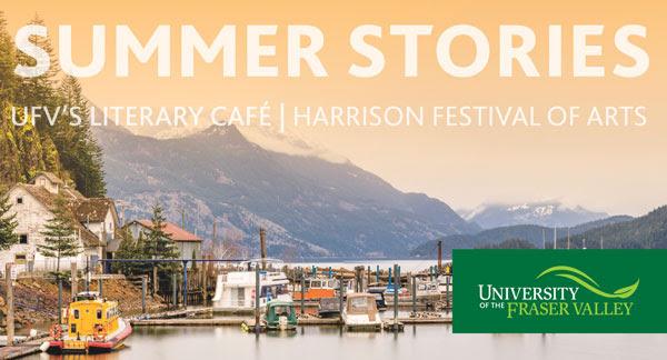 Ufv S Literary Cafe At Harrison Festival Of Arts Ufv Events