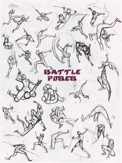 battle poses ass kicking  elementjax  deviantart