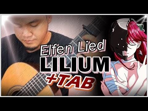 Elfen Lied - Lilium - Guitar Tab
